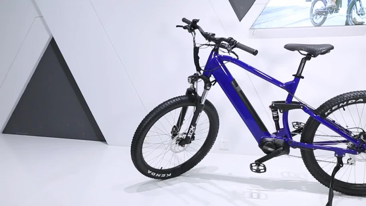 2020 China Wholesale high quality full suspension mid Motor electric bike   electric  bicycle  27.5  inch electric bike