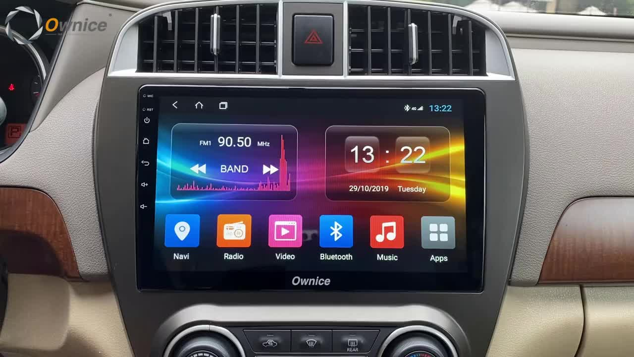 Ownice สนับสนุน 4G LTE เครื่องเสียงรถยนต์ Android เครื่องเล่น DVD GPS สำหรับ Honda Accord 2014 2015 2016
