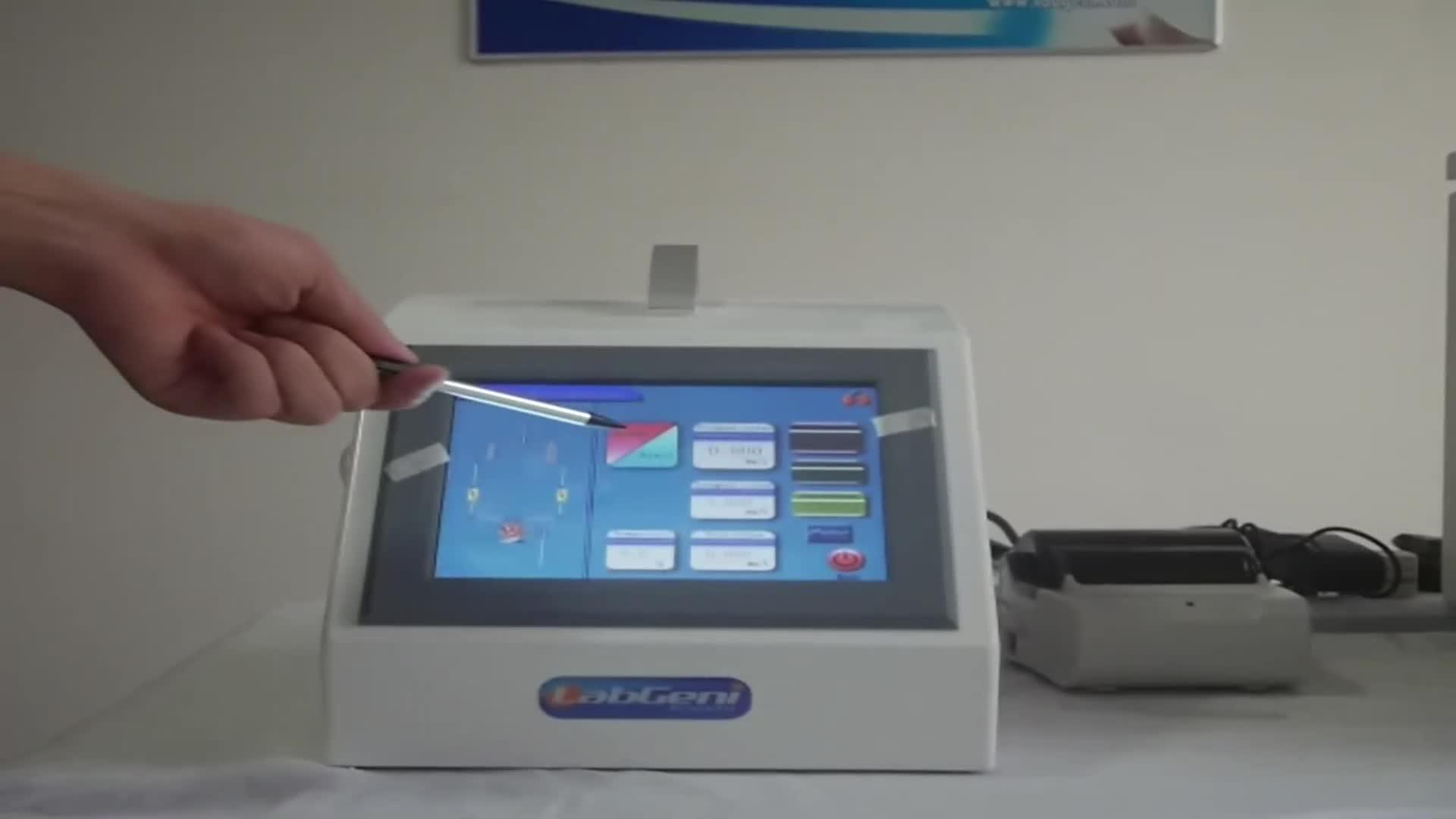 TOC analizador Sampler con Auto, modo Manual, modo pasivo