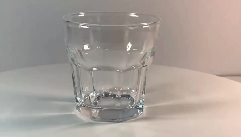 230ml Mini amazon mail order classic highball whicky tumbler glass water cup for home restaurants