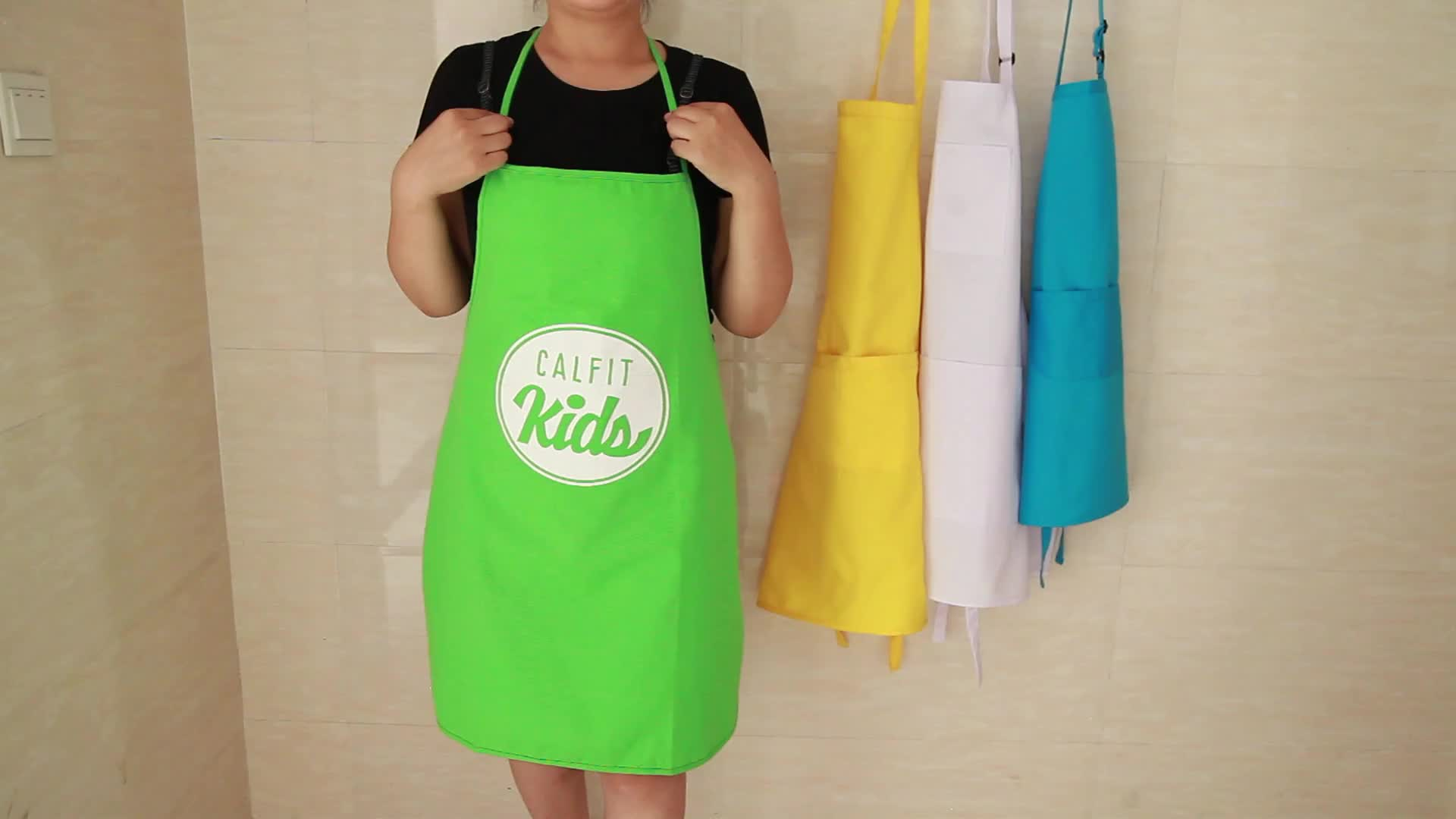 Promotion Waiter Apron Half Apron Chef Apron Made In China
