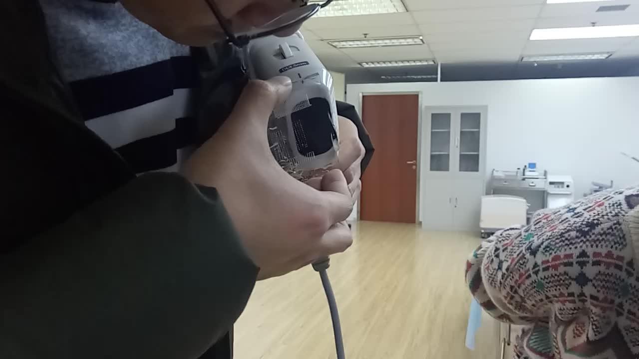 Tragbare Ultraschall-3D HIFU-Maschinen-hohe Intensität fokussierte Ultraschall-Gesichtsaufzug Korea, das Schönheits-Maschine abnimmt
