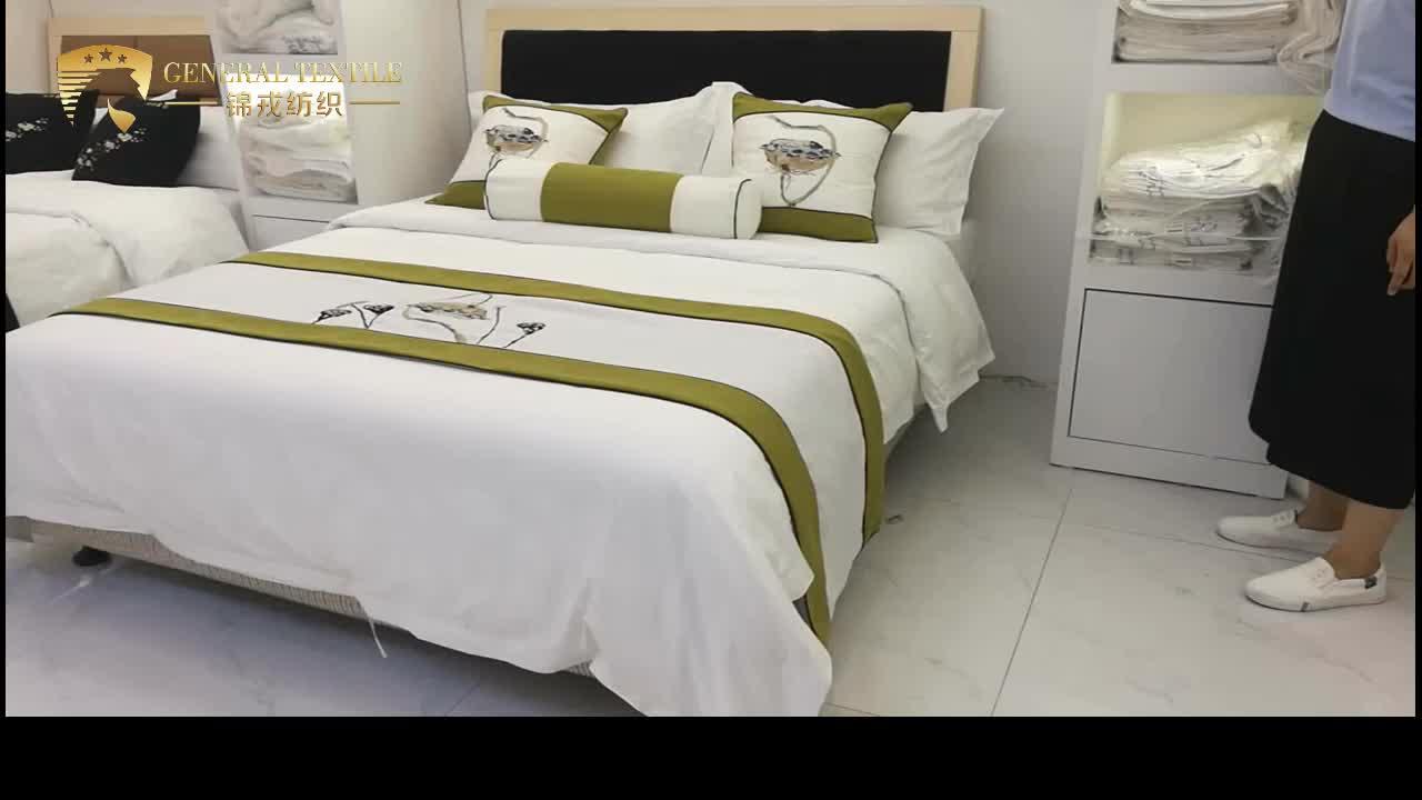 Hotsale 100% cotton sạn bed linen từ Thượng Hải