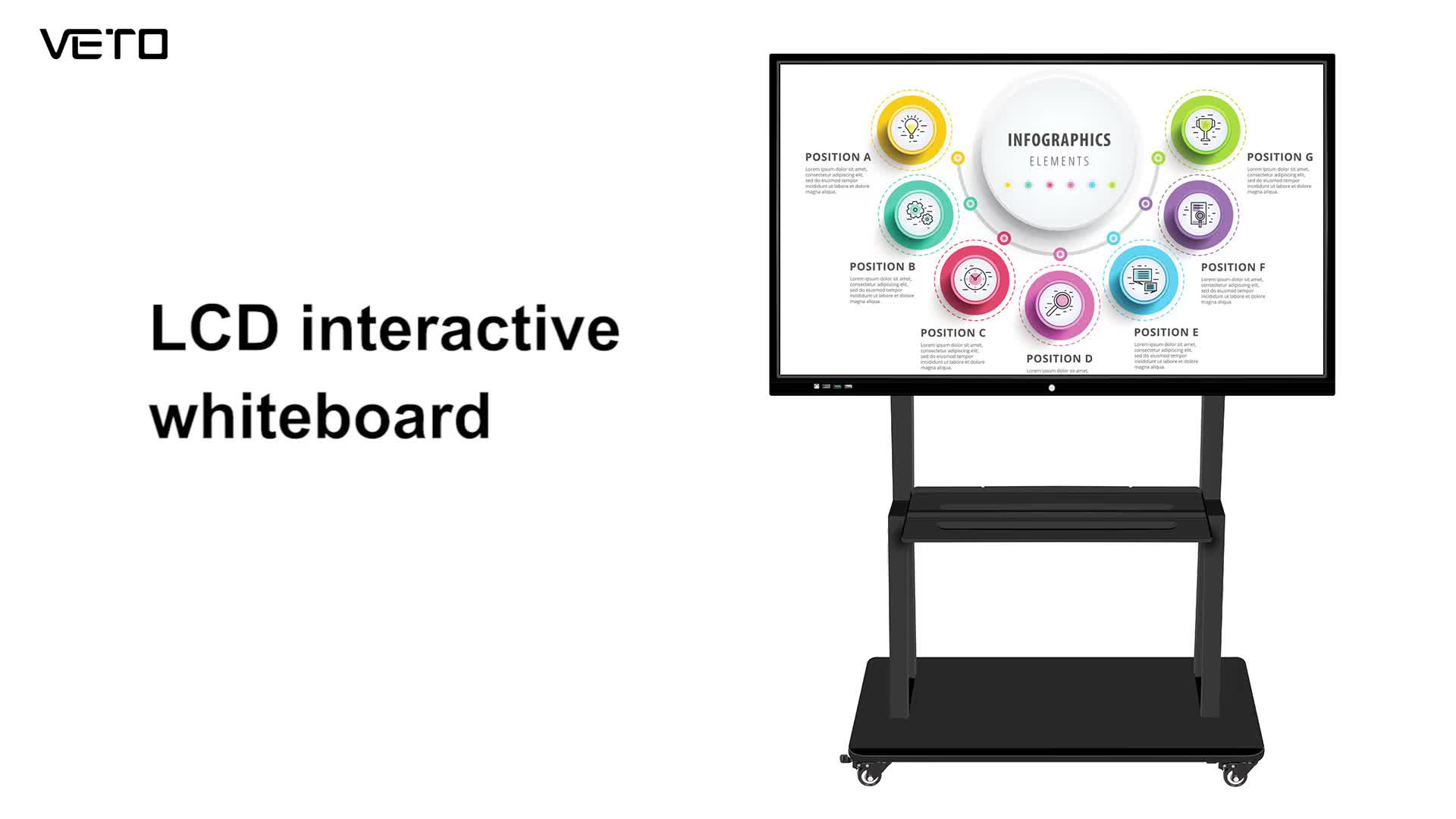 86 inch interactive flat panel multi touch screen interactive smart board Led-Lcd display interactive whiteboard manufacturer