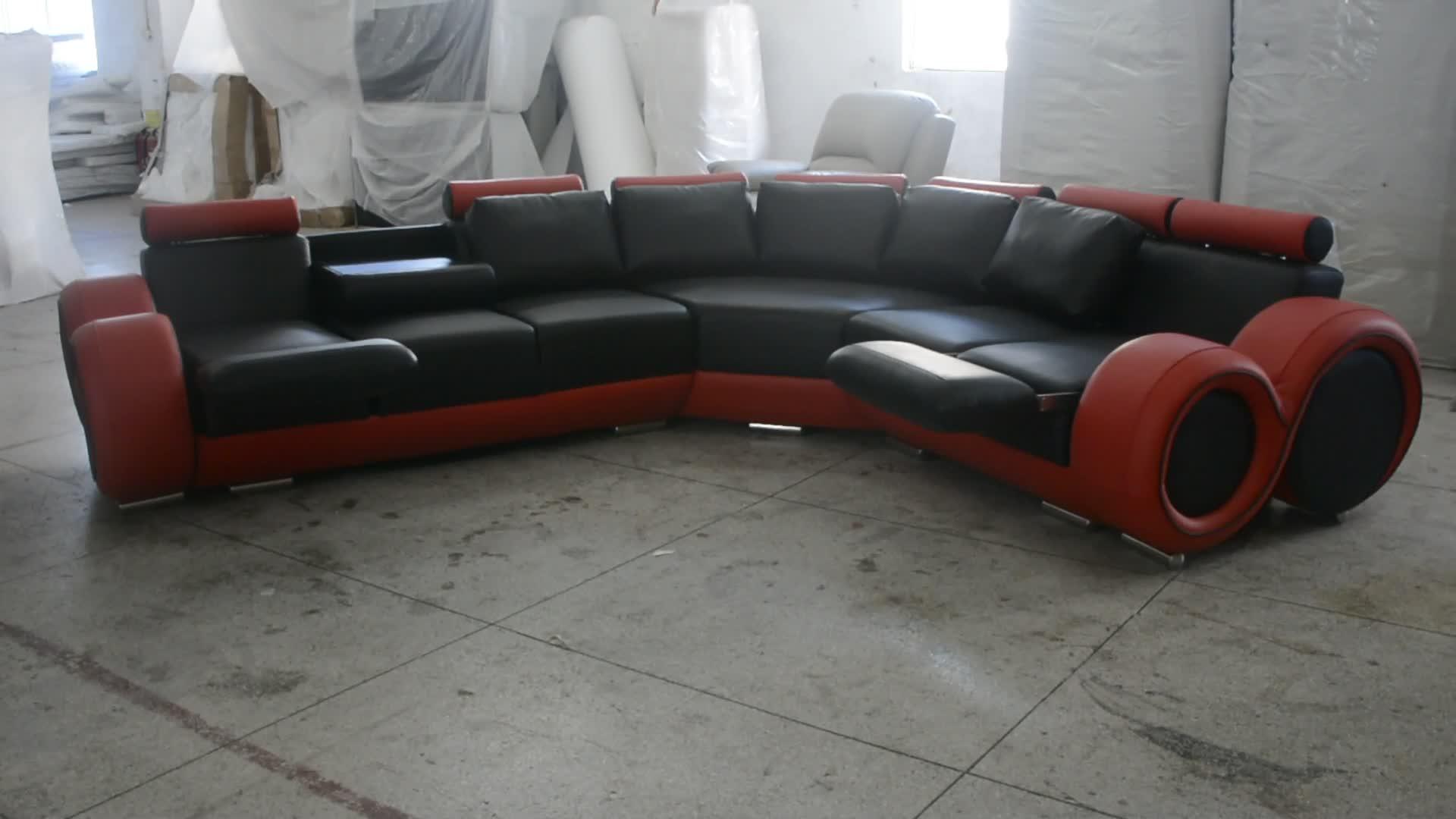 Le canapé inclinable de luxe allemand le plus attrayant
