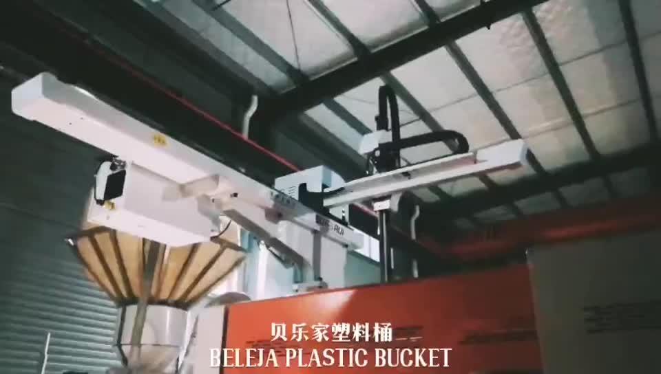 Hochwertiger 18 Liter Plastiklack Schwarzer Eimer
