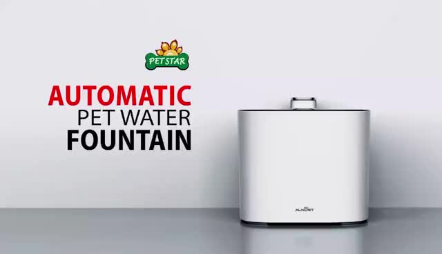 Automatic electric clean and healthy pet flowing water drink fountain