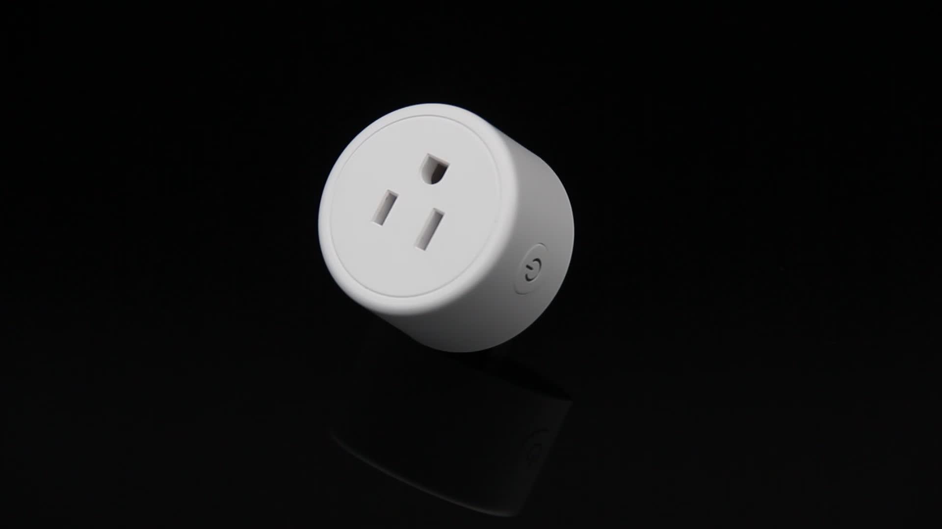 Frankever white APP controlled US standard wifi smart plug