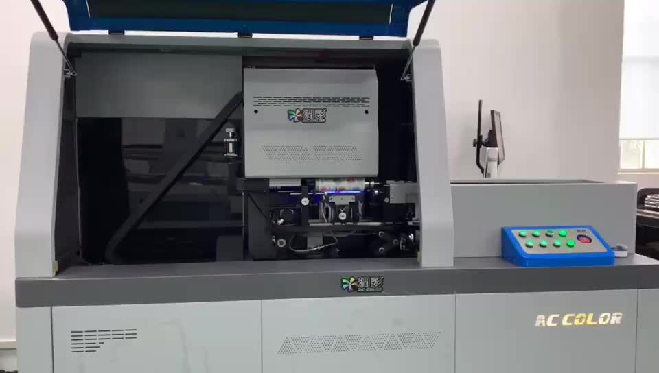 High speed rotary cylinder uv printer