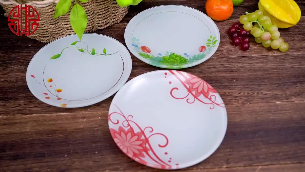 ידידותית לסביבה גבוהה באיכות סין כלי שולחן צלחת
