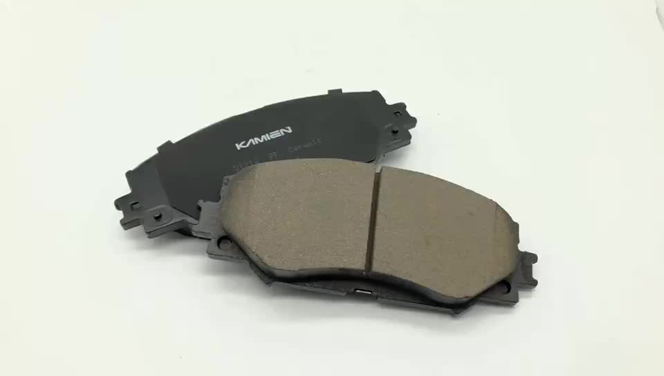 Genuine front rear OE 04466-47020 high quality brake pads packing box for toyota