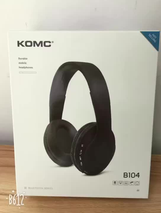 High Cost Performance Private Label Bluetooth Headset, FM Radio Wholesale Bluetooth Headphone with Mic~
