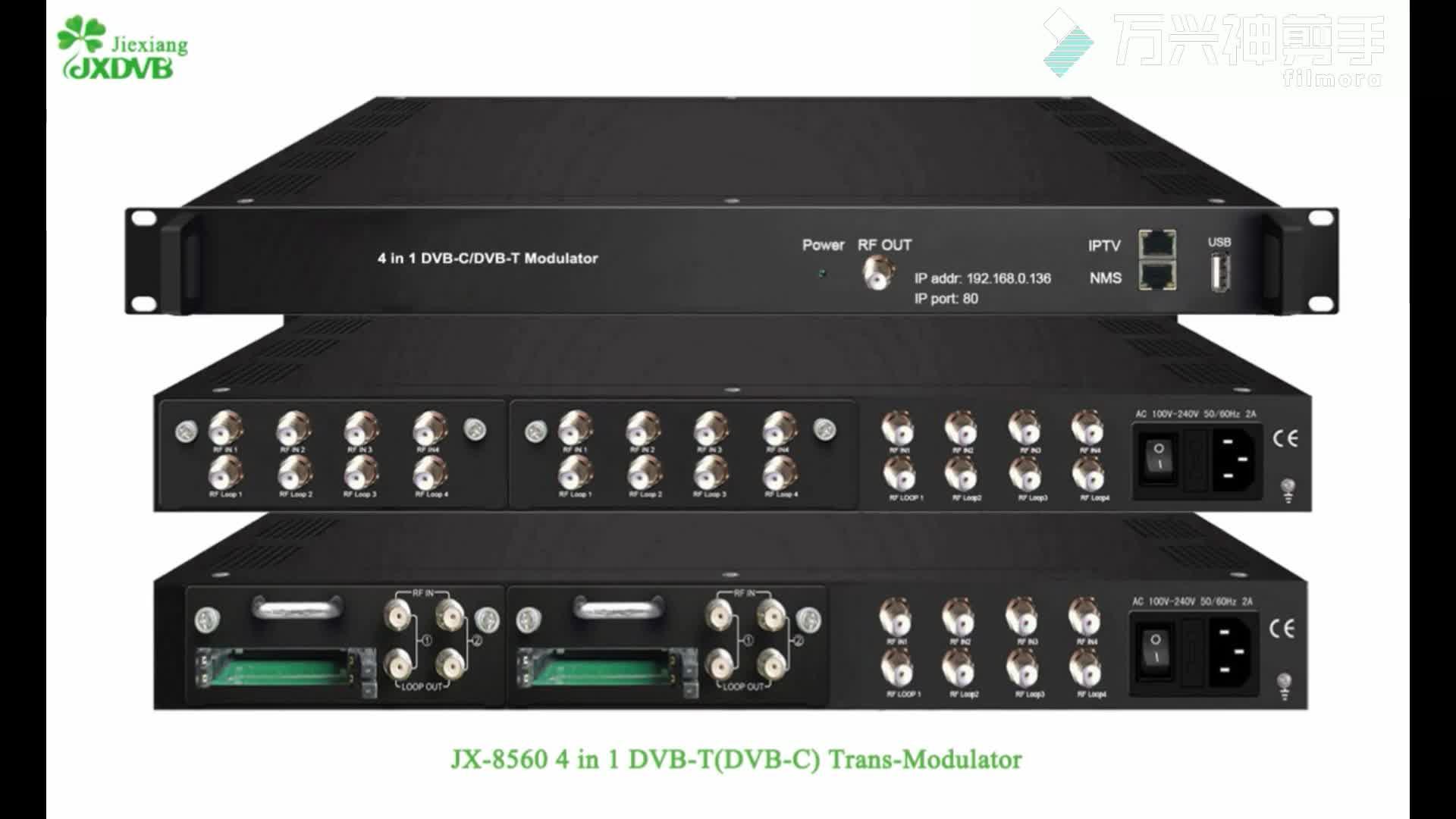 DVB-S2 To Qam Transmodulator