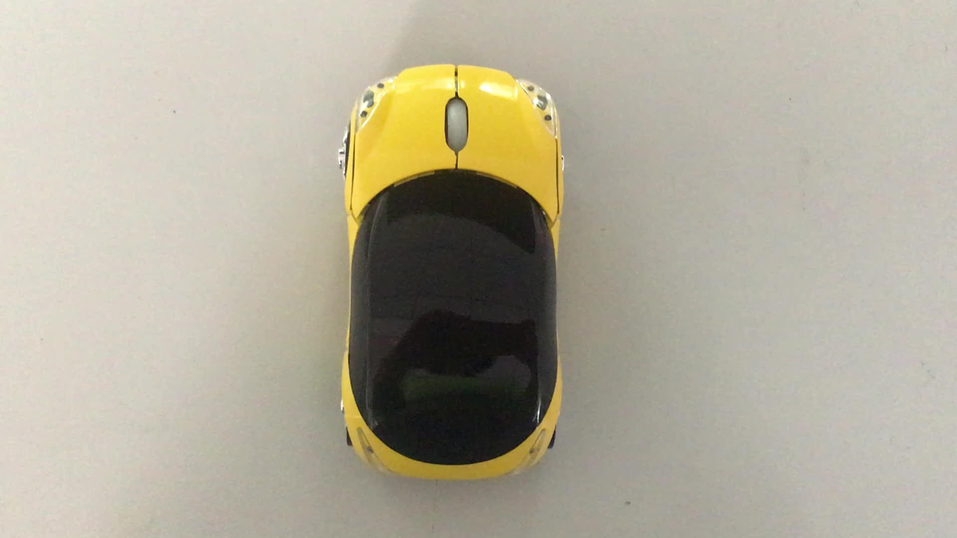 Brindes corporativos inovadores clássico forma do carro do mouse sem fio rato do computador do carro