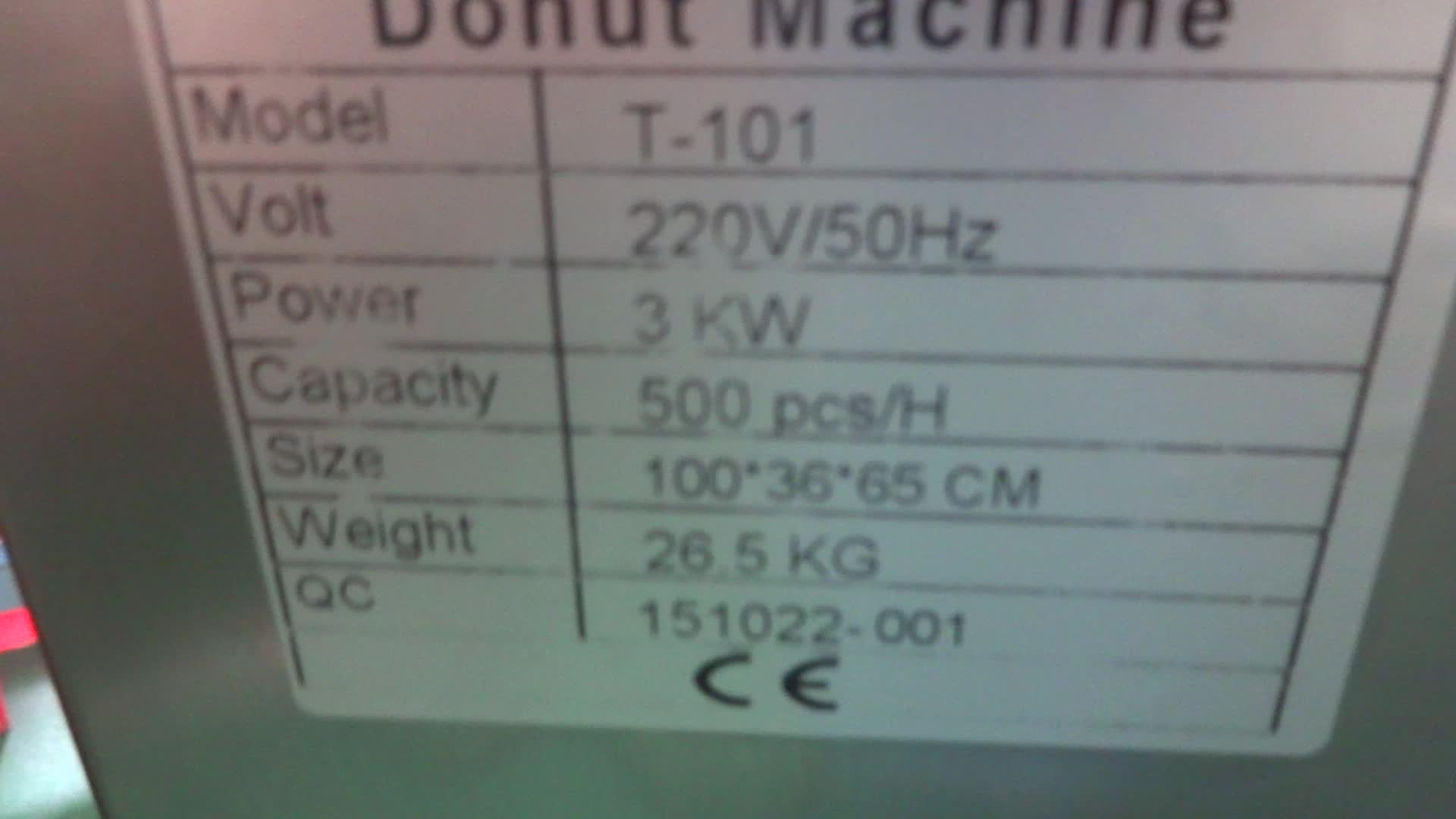 Electric Mini Donut Machine T-101 Automatic For Sale Good  Price