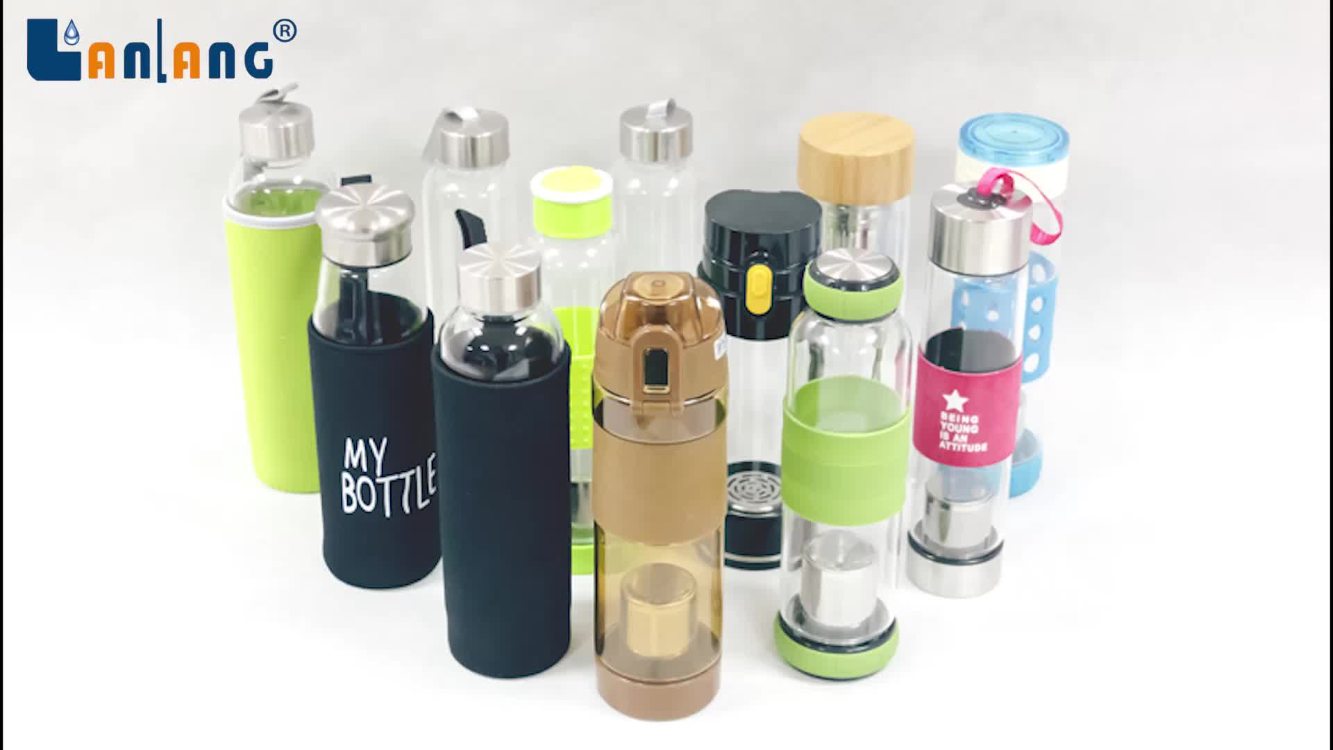 WB-AHB14 Bpa Free Water Bottle Activated Hydrogen Water