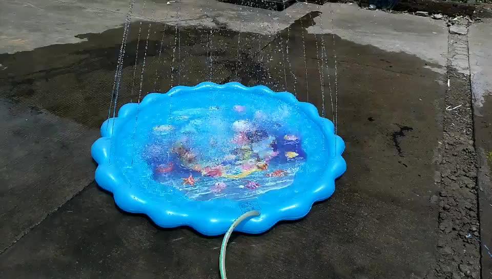 Pat Atividade Divertida do Jogo Do Bebê Mat Desenho Água Mat Bebê Mat Água