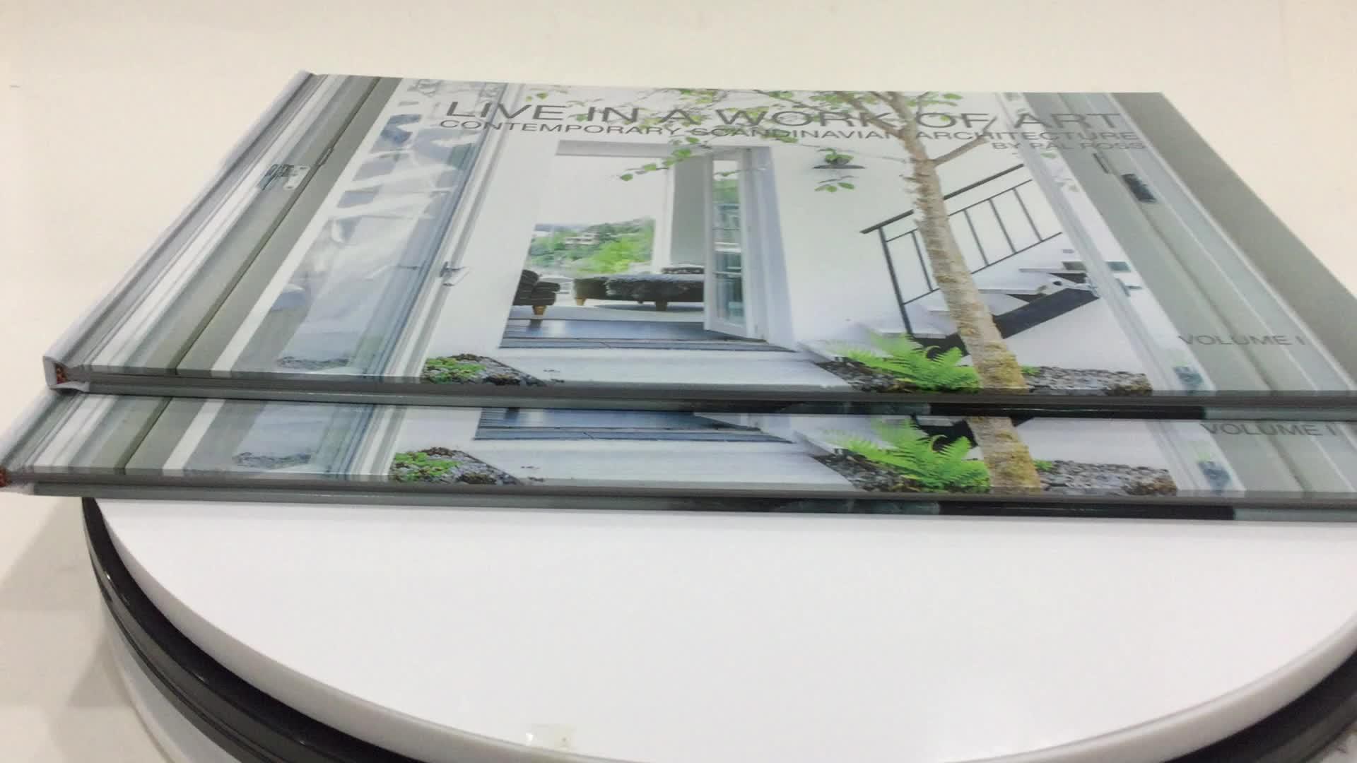 Manufactory Diretamente China Serviço de Impressão Offset Profissional de Alta Qualidade Coloração Personalizado Barato a3 Impressão de Livro de Capa Dura