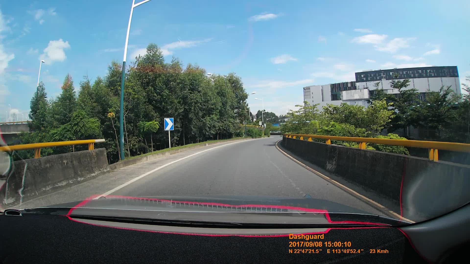 GPS WIFI 1080 p vehículo comercial Dash Camera
