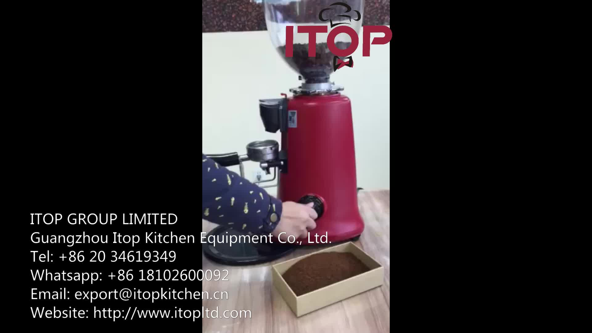 Commercial espresso Coffee grinder Italian electric automatic coffee bean gridner