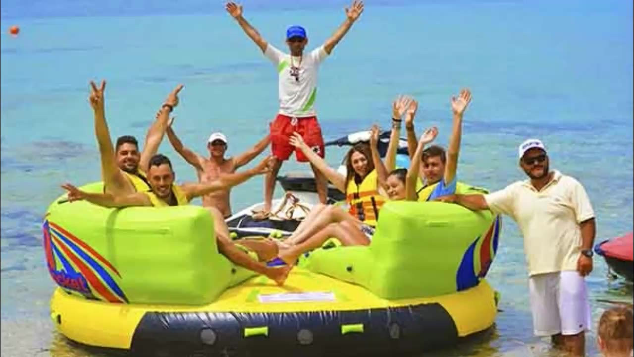 New Design Commercial Grade Inflatable Water Ski UFO Towable Tube For Water Sports