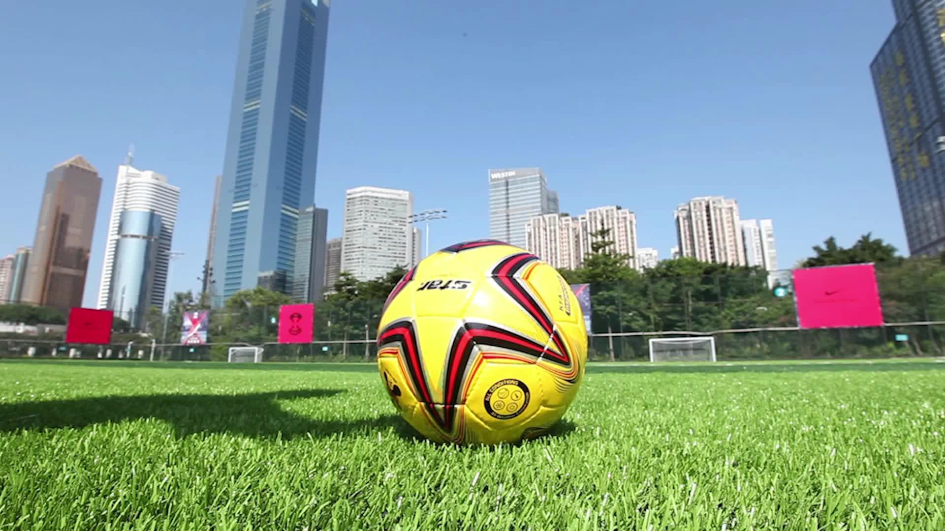 Grijpende gras tapijt kunstgras tegel voor voetbal