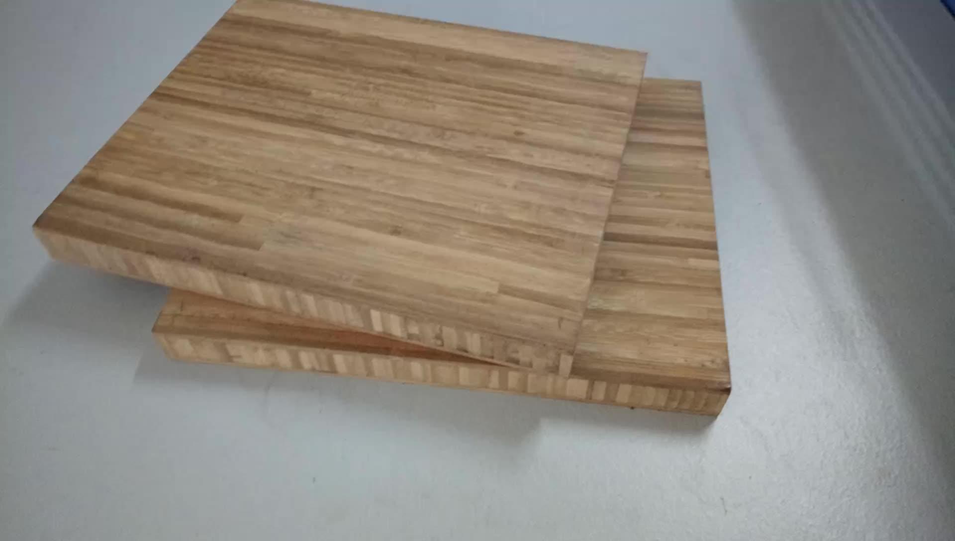 수직 프레스 적층 대나무 대나무 테이블