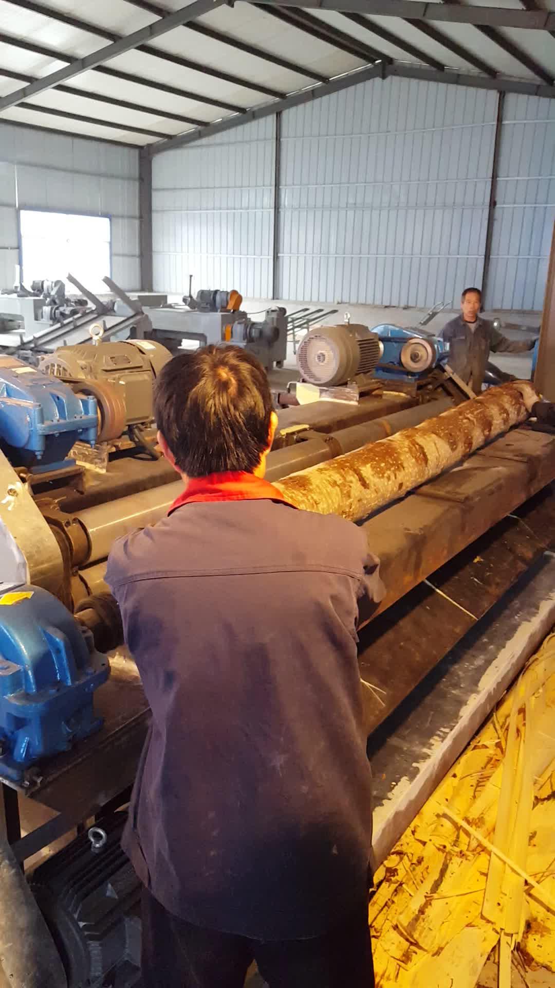 Venener compensato che fa la macchina a rulli di legno log debarker