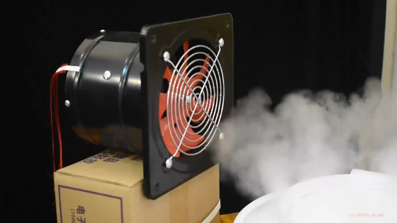 Low Noise 8 Inch High Quality Portable Smoke Extractor Fan