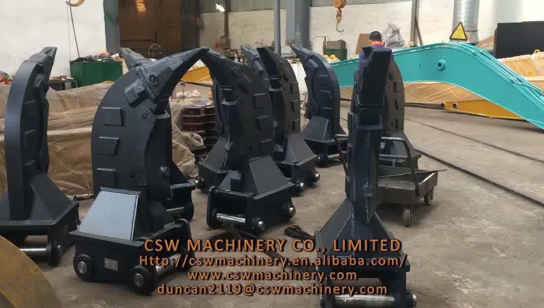 Yüksek kaliteli ekskavatör parçalayıcı mini ekskavatör için Q345