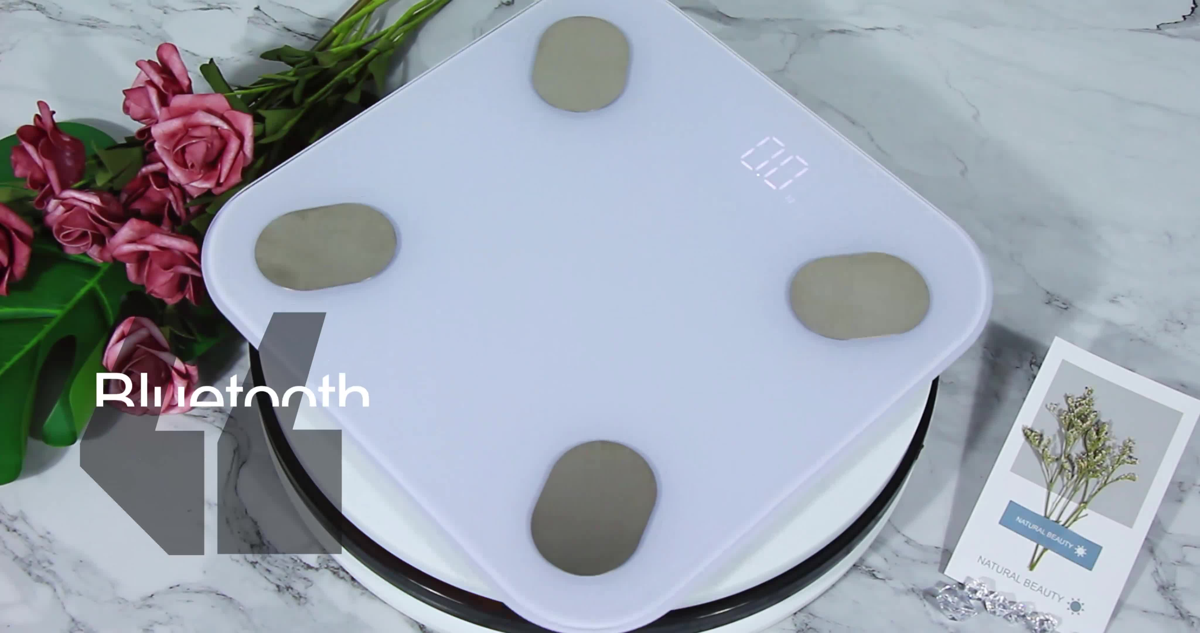 Renpho Bluetooth Digital Weight Scales Body Fat Blue Tooth Smart BMI Body Fat Scale