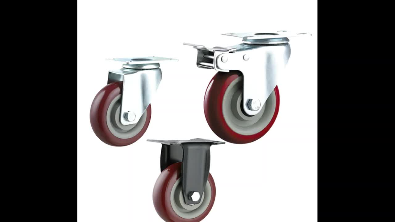 Specializing in the production of nylon industrial castors, cart wheels, shopping cart casters.