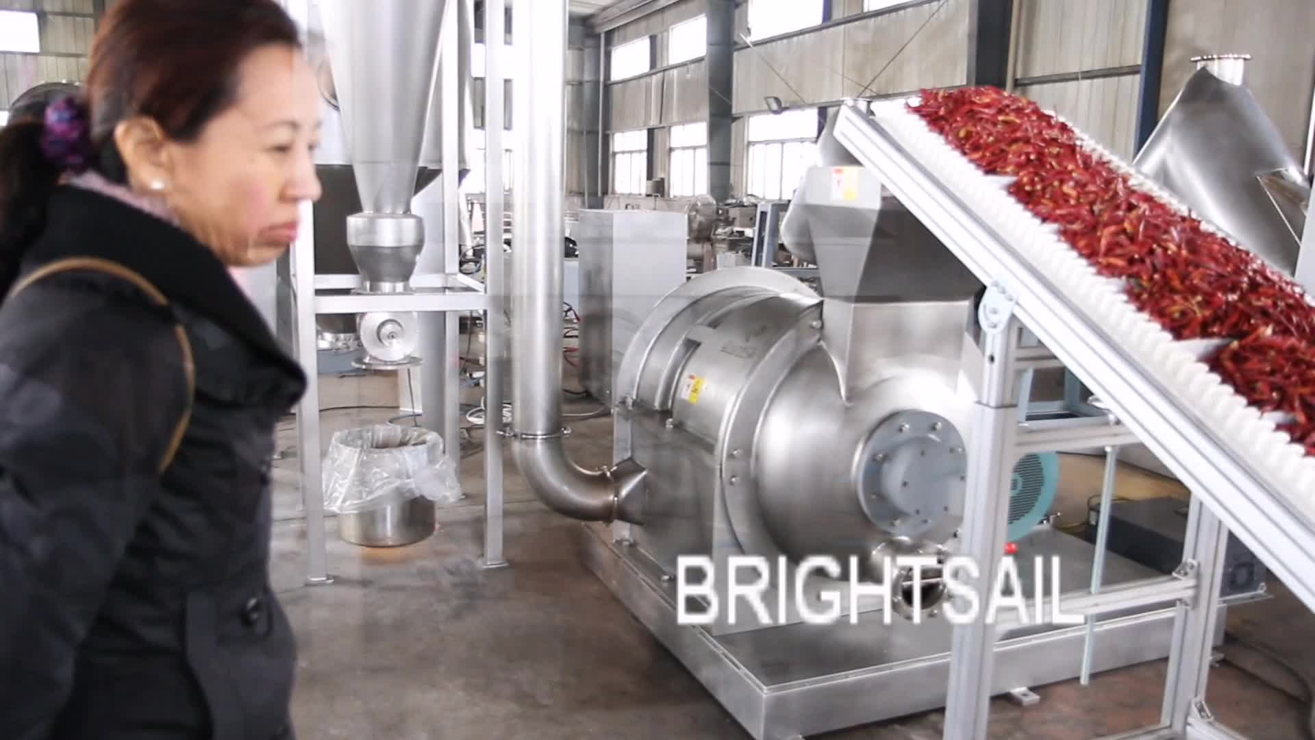 Brightsail BSDF สแตนเลสค้อน mill พริก chili ผงเครื่องเทศบดเครื่อง