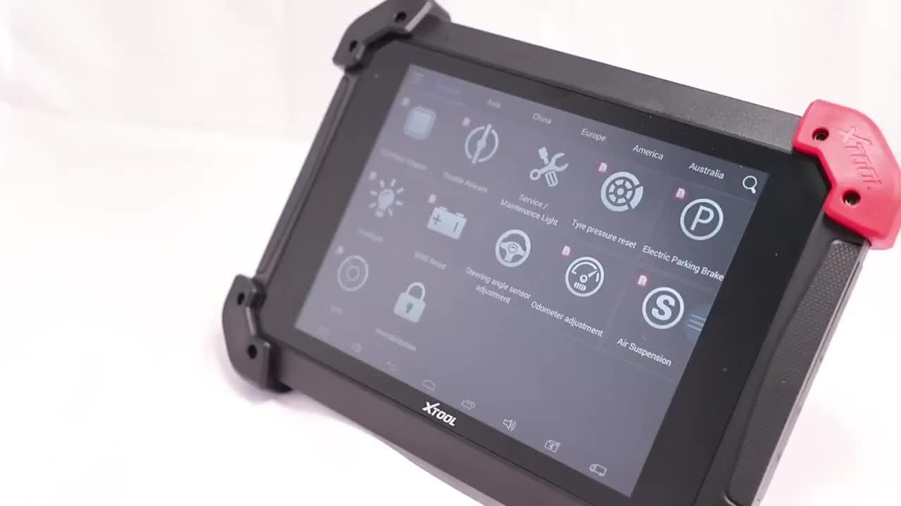 PS90 PRO Heavy Duty Ferramenta de Diagnóstico XTOOL Wifi/BT Para programador Chave Do Carro e Caminhão OBD2 e Ajuste Do Odómetro atualização Online