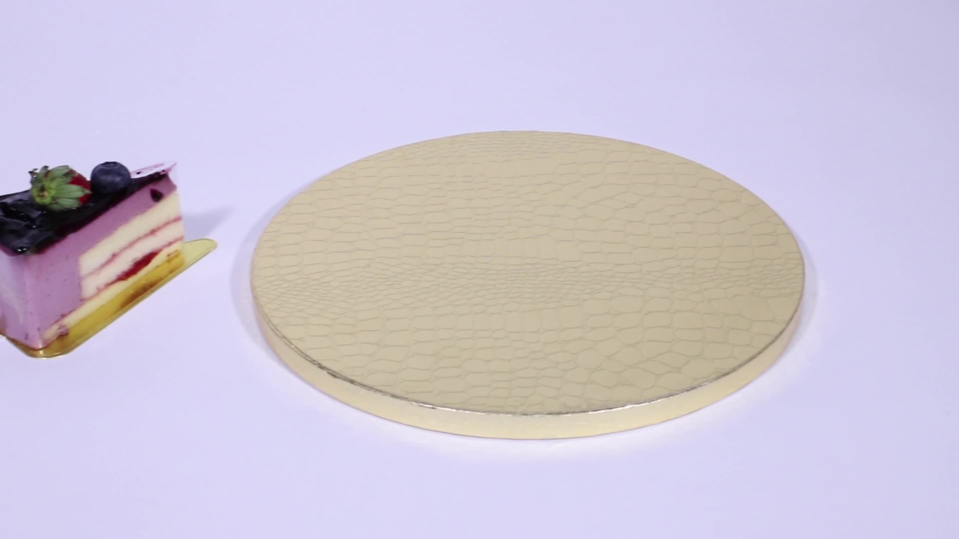 Cheap Customized Color  Rectangle  Round Cake Board Cake Drums