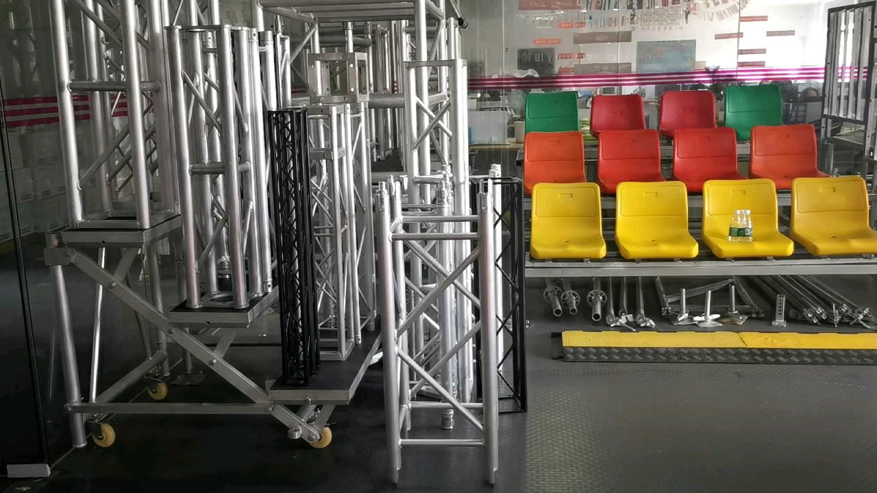 Алюминиевый dj для крепежа осветительных приборов на сцене, башня Тотем ферменной конструкции из алюминия для как просторных крепежных конструкций