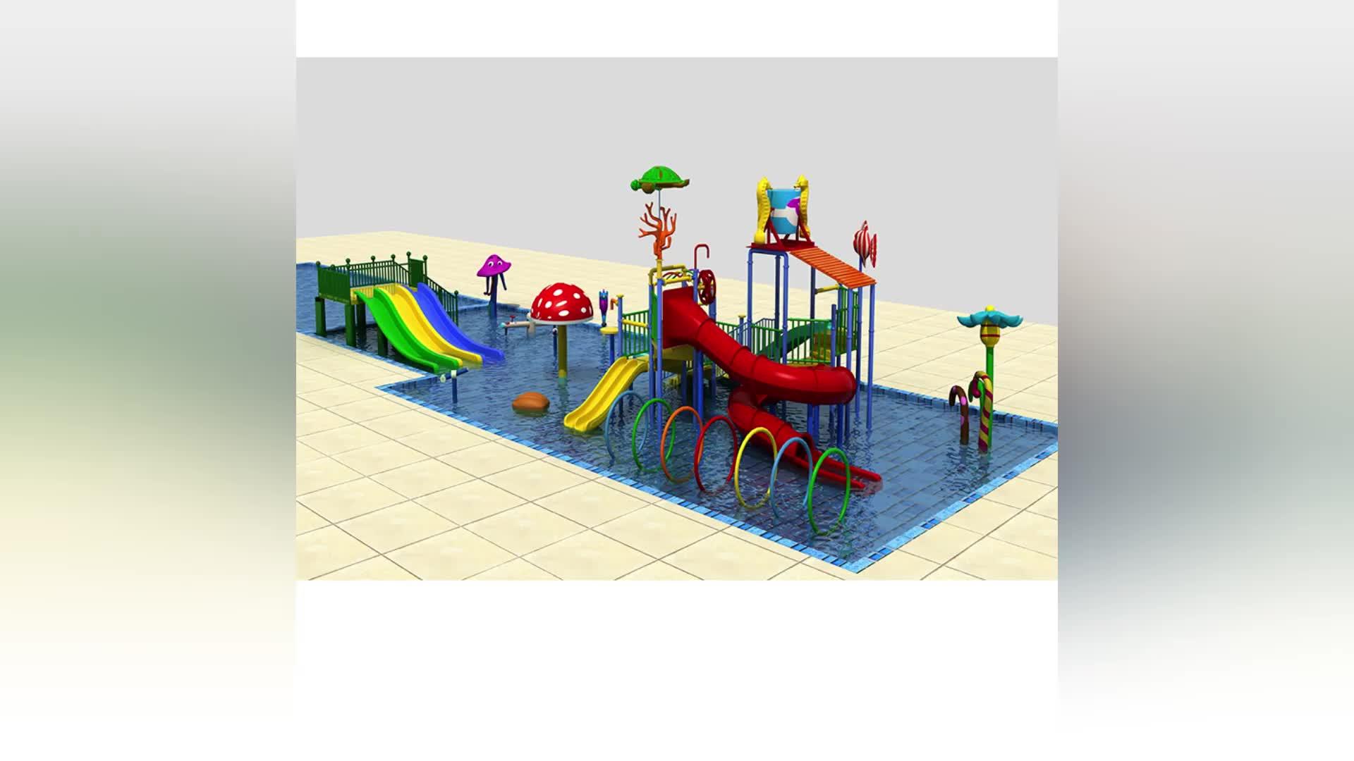 Kids entertainment equipment, plastic water slides