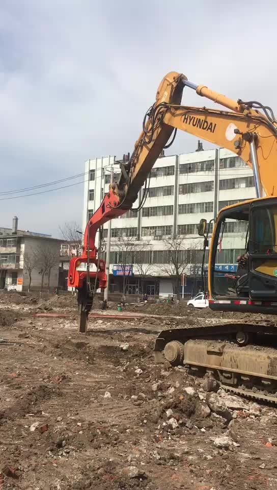 Electric Vibro Hammer BY-VH350 Pile Hammer (excavator type)