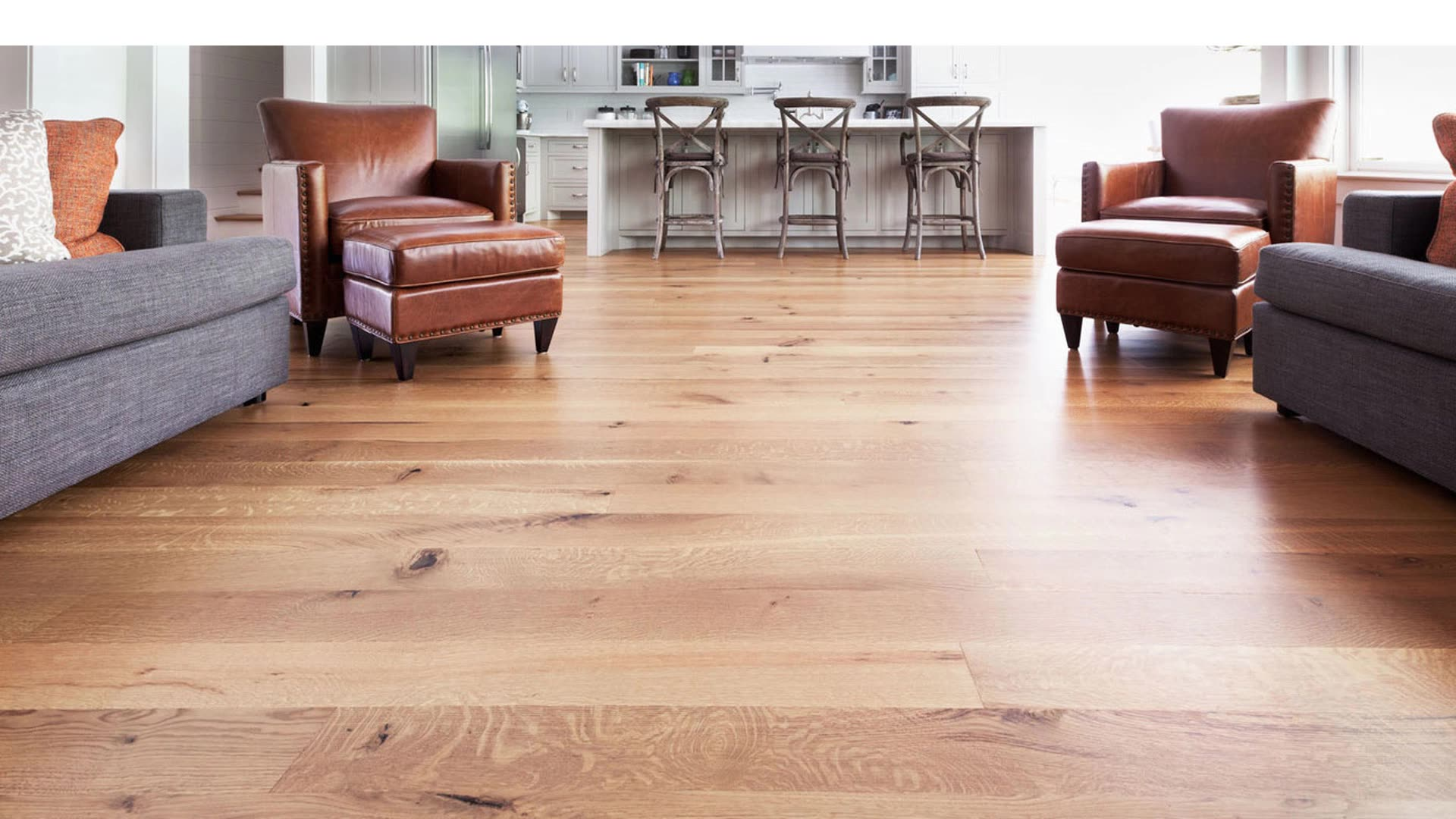 12mm Laminated Oak Flooring