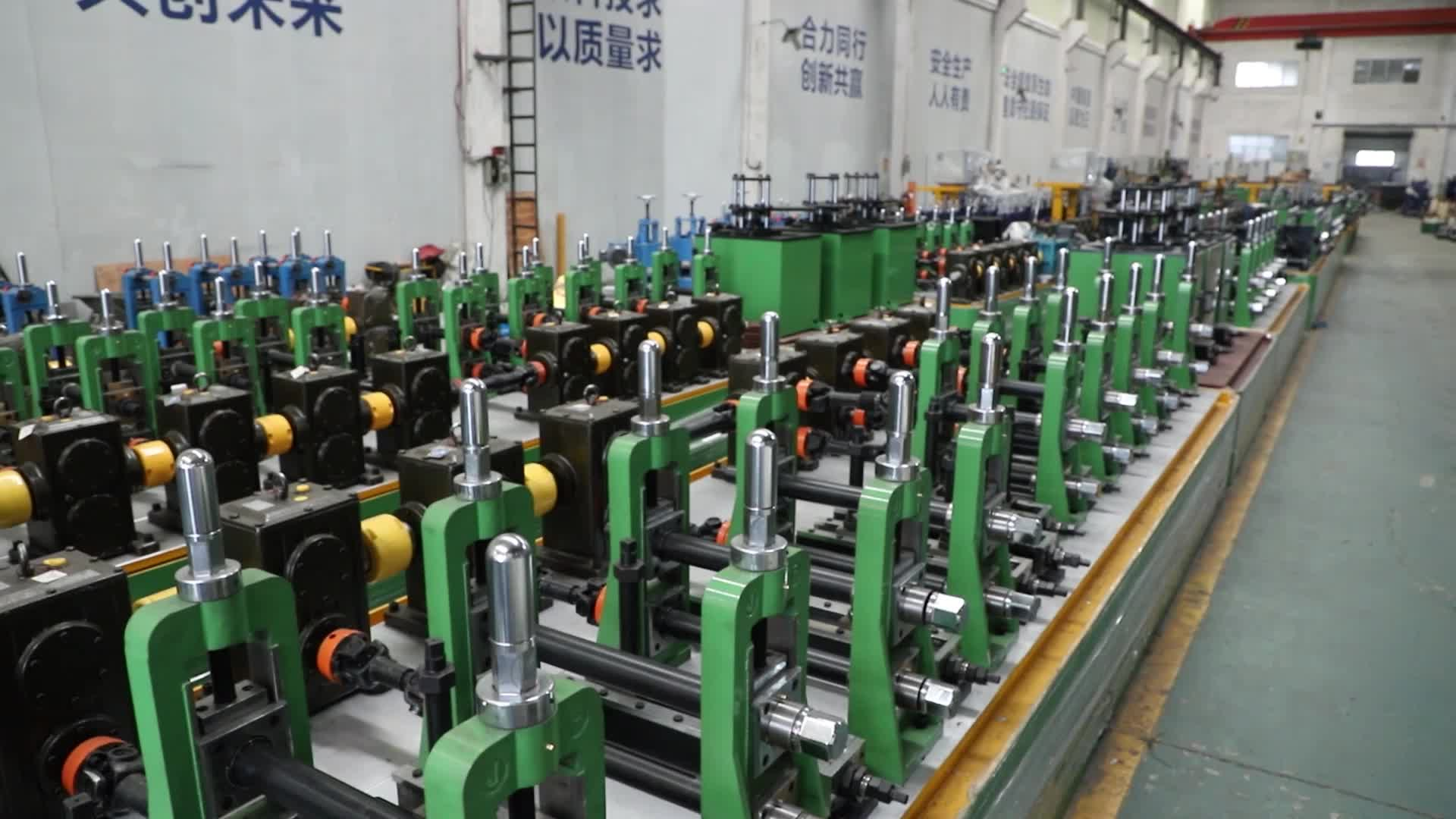 High Quality Automatic Round SS Tube Making Machine Stainless Steel Pipe Line