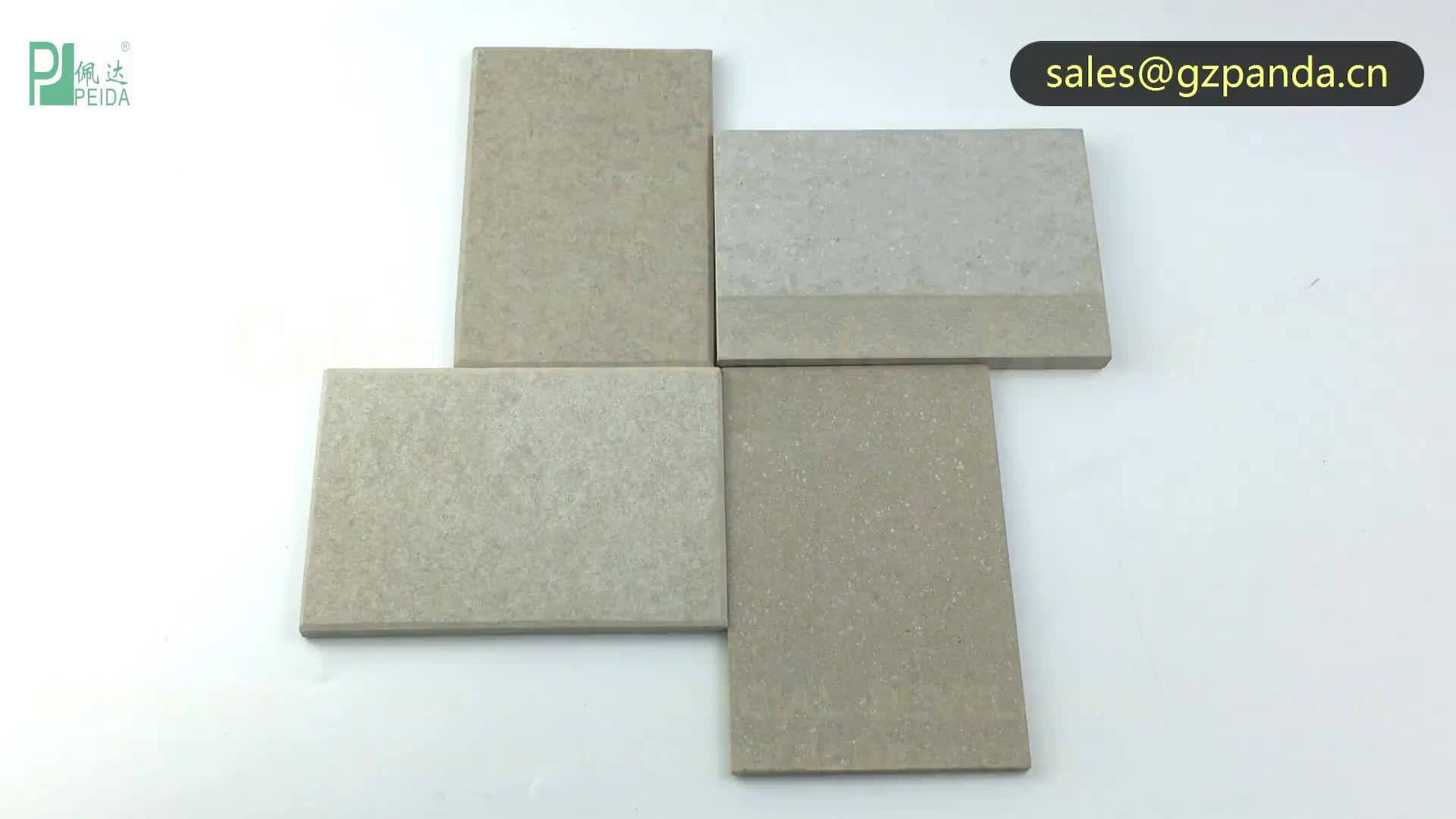 9mm Thick Fire Resistant Calcium Silicate Board ,Fire rated Ceiling, Wall Cladding , Partition
