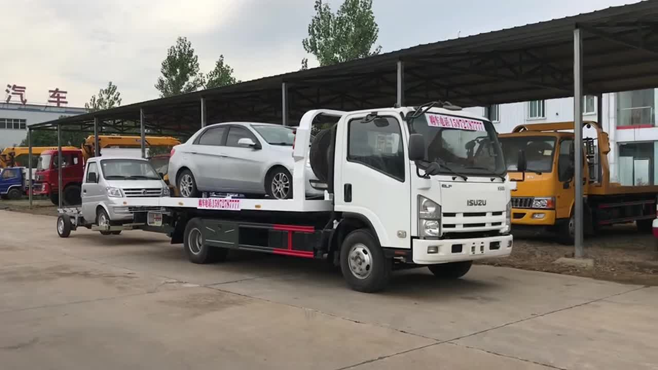 China Dongfeng DLK Wheel Lift Tow Truck Bar Lights for Sale in South Africa
