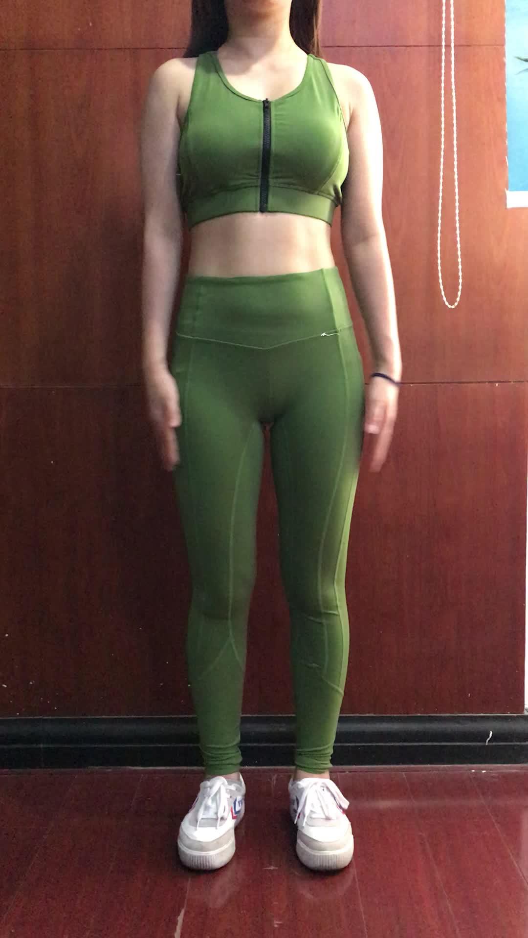 Eco freundliche Großhandelsfrauen-Kleiderkundenspezifische Yoga-Hosen-Sport-Trainings-Hosen-Bambus-Kleidung