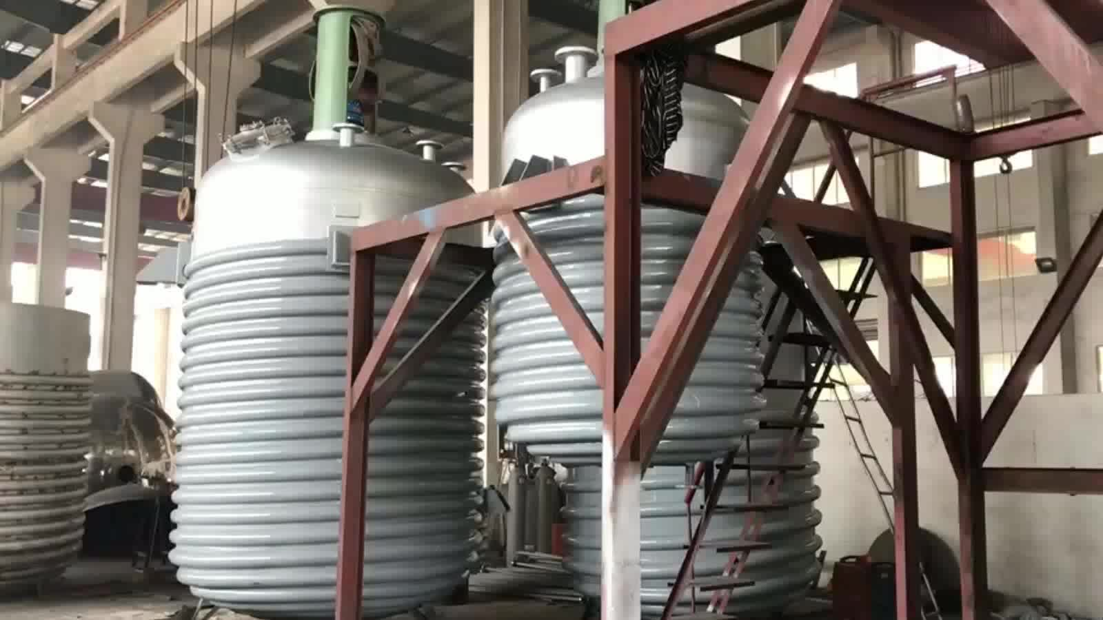 Stainless Steel Lab Polymerization Chemical Reactor /Chemical Reaction Vessel