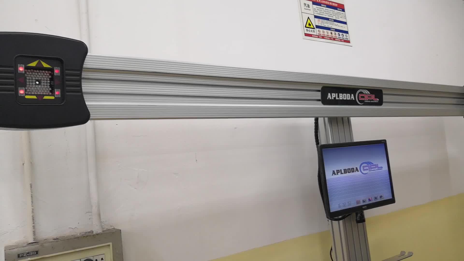 Di alta Qualità 3D Allineamento Delle Ruote Auto Macchina