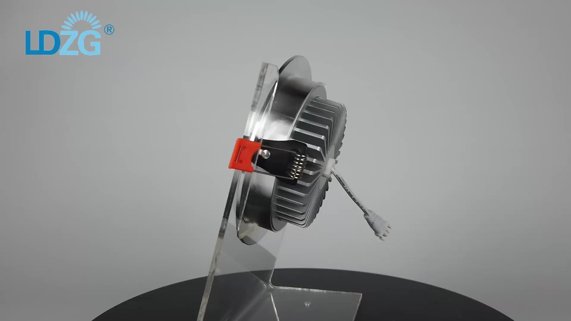 Ronde Witte Chroom Zilver Ultra Dunne Aluminium 3 W 5w7w 9 W 18 W 24 W 220V Plafond Led inbouwspot