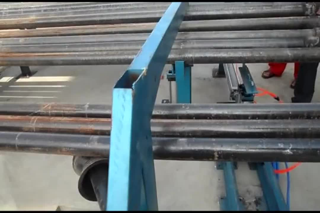 Steel pipe inner and outer wall shot blasting machine manufacturers