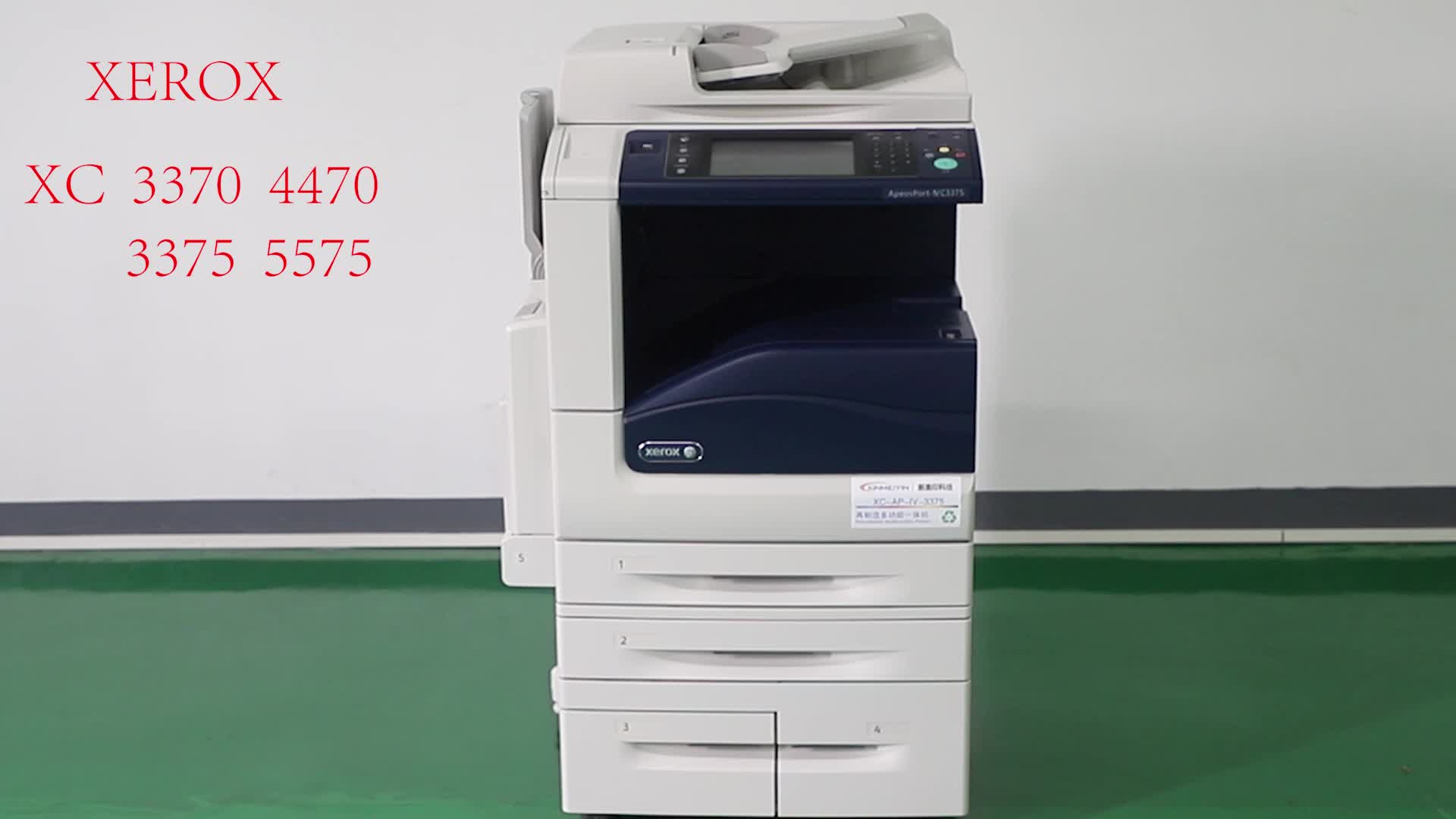 Seconde main imprimante laser Xerox3370 IV3370 Copieurs imprimantes Copieurs D'occasion Machine photocopieur