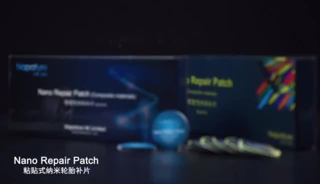 Schnell Selbst-Adhesive Kalt Patch Film Trocknen Gummi Automobil Innenrohr Vakuum Reifen Patch Werkzeug Mit Kleber Kostenloser Reifen patch