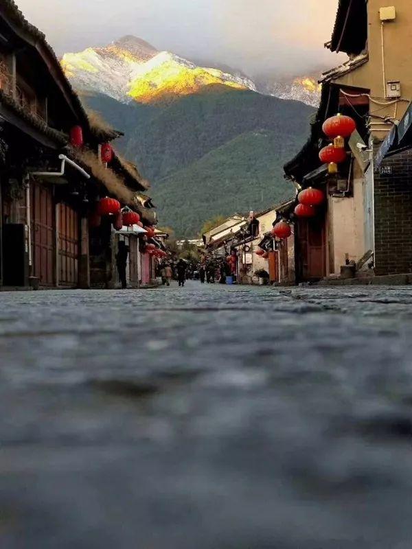 江南的雪景美上天?那大理的苍山雪呢?